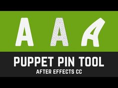 T010 Puppet Tool Overview Tutorial in After Effects CC for Gushy Test - YouTube