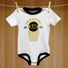 Air Jordan Baby Onesie Creeper - Basketball Air