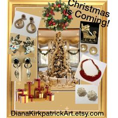Save 20% on all vintage items at DianaKirkpatrickArt.etsy.com during our Holiday Sale