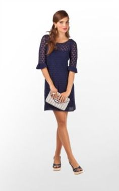 Look at the chic crochet number! This is great for the boulevard tailgate, and its blue (tri delta colors!...need I say more?!)