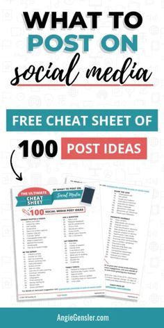 Get these 100 ideas of what to post on social media! Social Media Content, Social Media Tips, Content Marketing Strategy, Social Media Marketing, Podcast Tips, Twitter Tips, How To Use Facebook, Social Media Influencer, Instagram Tips