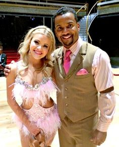 witney-carson-alfonso-ribeiro on Dancing W/ the Stars~
