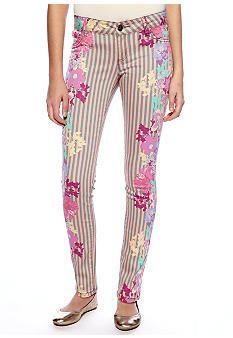 Grane Printed Floral Stripe #belk #patterns #juniors