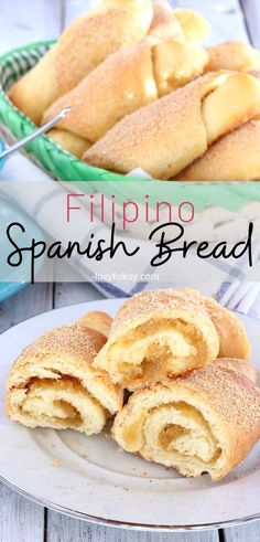 Spanish bread is a popular 'merienda' in the Philippines with a sweet buttery filling! Try this delicious Filipino Spanish bread for your afternoon snack. Spanish Bread Filipino Recipe, Filipino Dishes, Filipino Desserts, Filipino Recipes, Filipino Food, Pinoy Food, Torta Recipe Filipino, Philippine Bread Recipe, Filipino Street Food
