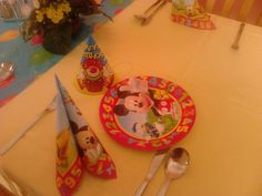 Our second children party for 2 small children.