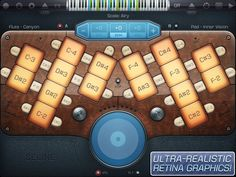 SELINE ULTIMATE.  Great for improvising over drones, with lush sounds and easy interface.  It's actually possible to improvise yourself to sleep with your iPad.  #ipadmusicapps ~ $0.99