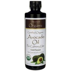 Buy Swanson Certified Organic Avocado Oil Nutritional Supplement for sale in Online supplements shop megavitamins in Gold Coast, Brisbane & across Australia. Great Lakes Gelatin, Food Nutrition Facts, Organic Avocado Oil, Healthy Oils, Essential Fatty Acids, Nutritional Supplements, Calorie Diet, Organic Recipes, Gold Coast