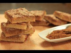طريقة عمل وصفة مربعات كيك القرفة والسكر من زيتونة
