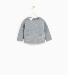 SWEATER WITH POCKETS-SWEATERS AND CARDIGANS-BABY GIRL | 3 months - 4 years-KIDS | ZARA United States