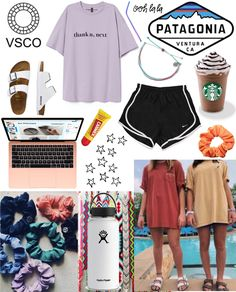just another VSCO girl Outfit Adrette Outfits, Lazy Outfits, Preppy Outfits, Cute Summer Outfits, Cute Casual Outfits, Preppy Style, Stylish Outfits, Stylish Clothes, Preppy Boys