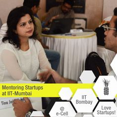 "It was an Incredible session of Mentoring by Pineapple Consulting's Tina Jain Mehta, to some of the brightest startup ideas @ IIT-Mumbai's Offline Mentor's Meet - ""Eureka!""  ‪#‎MentoringStartups‬ ‪#‎IITBombay‬ ‪#Eureka‬!‪ #‎PineappleLovesStartups‬"