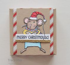 Merry Mice by Stampin' Up! Tracy May