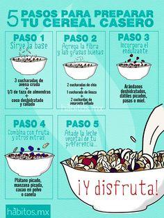 Cereal casero #hábitos #health #hábitosmx #salud