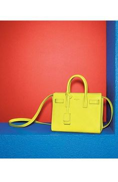 LOVE this neon tote
