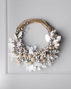 Next Post Previous Post White Wreath with Jingle Bells Weißer Kranz mit Jingle Bells Wreath Crafts, Diy Wreath, Grapevine Wreath, Wreath Ideas, Felt Ball Wreath, Wreath Making, Fun Crafts, Christmas Holidays, Christmas Crafts