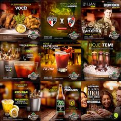 super Ideas for design advertising magazine Social Media Bar, Social Media Poster, Social Media Graphics, Menu Design, Ad Design, Restaurant Poster, How To Make Banners, Sports Graphic Design, E-mail Marketing