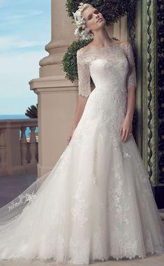 Casablanca Bridal Spring 2015 2203_Front
