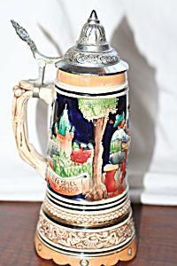 Vintage Original Thewalt  German Beer Stein with Lid