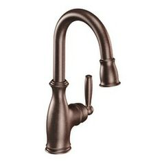 Buy the Moen Oil Rubbed Bronze Direct. Shop for the Moen Oil Rubbed Bronze Brantford Pullout Spray Bar Faucet with Reflex Technology and save. Faucet Handles, Kitchen Handles, Bar Faucets, Kitchen Faucets, Bar Sinks, Bronze Kitchen, Bathroom Faucets, Master Bathroom, Bathrooms