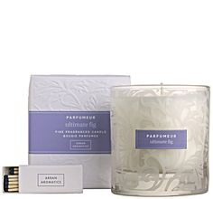 Gifts  - Ultimate Fig Candle in Glass 38cl £19.50