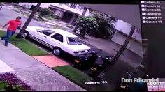 Afuera de la comisaria de Belen intentaron robar una moto, Medellin