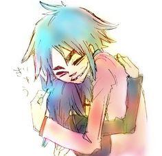 """Gorillaz ::AWW, 2D's hugging her like """"We missed you Noodle!"""""""