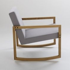 rocking chair on pinterest rocking chairs modern. Black Bedroom Furniture Sets. Home Design Ideas
