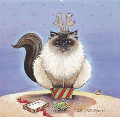 Christmas Cat ..., Gary Patterson