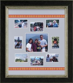 Vacations are some of the best things to custom frame! Always remember.