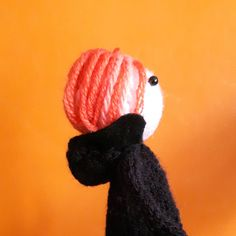 David Bowie Low knitted finger puppet by knitforvictory on Etsy