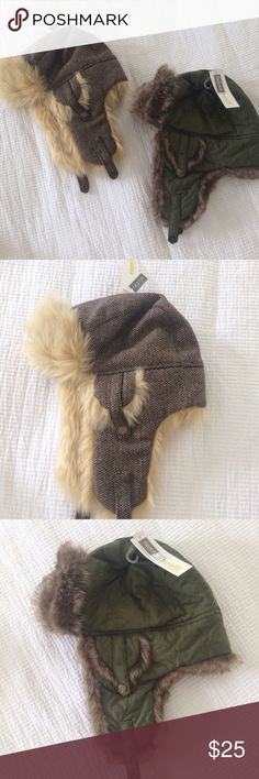Faux fur winter hat Cute winter hats, never worn, I bought while in Alaska Capelli of New York Accessories Hats