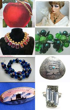 --Pinned with TreasuryPin.com  #EcoChic #vintage #jewelry #Fashion #etsyretwt