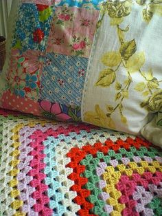 Beautiful vintage fabrics