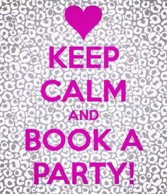 Book a Facebook party with me right now.