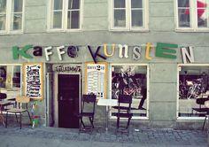 Cafe in Kopenhagen