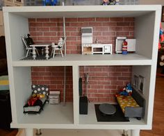 Diary of a Preppy Mom: DIY Dollhouse Furniture on the Cheap! - tutorials on making some easy dollhouse furniture