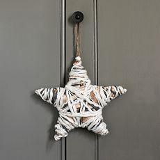 diy yarn wrap star ornament