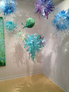 Sculpture by Aurora Robson....recycled plastic debris