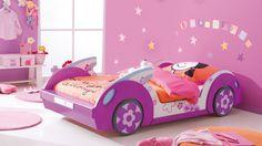 Mädchenbett Blumencabrio #Kinderzimmer #kidsroom