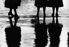 Reflection of Women's Dresses by Gordon Parks