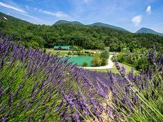 Huttopia lavande dieulefit drome provençale