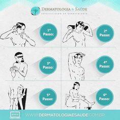 Autoexame da Pele  Aprenda como realizar o autoexame de pele e reconheça um câncer de pele precocemente #dermatologia #dermatology #câncerdepele #skincancer #autoexamepele #dermatologiaesaúde