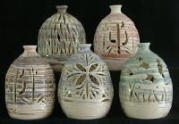 beautiful  pottery from an artist in Mico, Texas.  Saw a story on Texas Country Reporter.   Beautiful.
