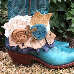 Boot Band Bootbnd1107 Boot Bracelet and Bling Hat by 101JanieJo