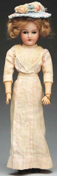 Lovely S & H Lady Doll.
