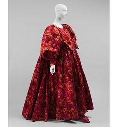 Iris Apfel's Legendary Style - A circa-1985 silk-taffeta Nina Ricci evening dress designed by Gérard Pipart.