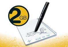 Livescribe Echo Smartpen - 2GB - Zwart