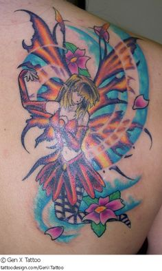 TATTOO PIC OF THE DAY! Check out this fine tattoo design from Gen X Tattoo at TattooDesign.com!