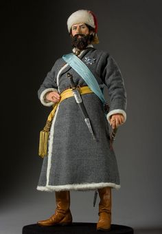 """Yemelyan Pugachev - He was a Don Cossack with a compelling nature who gathered a vast army of misfits, renegades, and runaway serfs and confronted the Imperial armies of Catherine the Great. His was the largest rebellion of the 17th century in Russia. He claimed to be Catherine's murdered husband, Emperor Peter III, come to overthrow the German-born Empress and restore """"himself"""" to his rightful throne. He was eventually brought down, tried for treason and executed."""