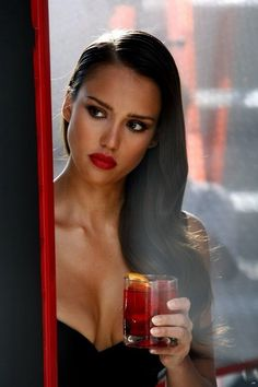 Red lip….get the look..